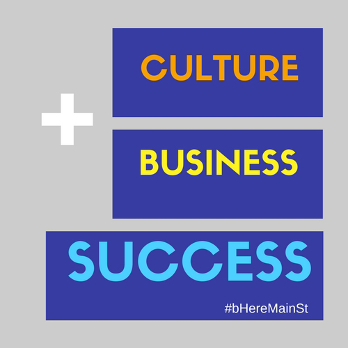 business + culture = success